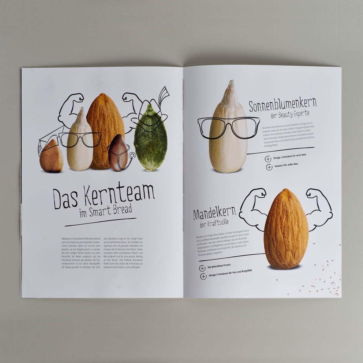 Markenstolz // Smart Bread Brandstory CD Printdesign Packaging