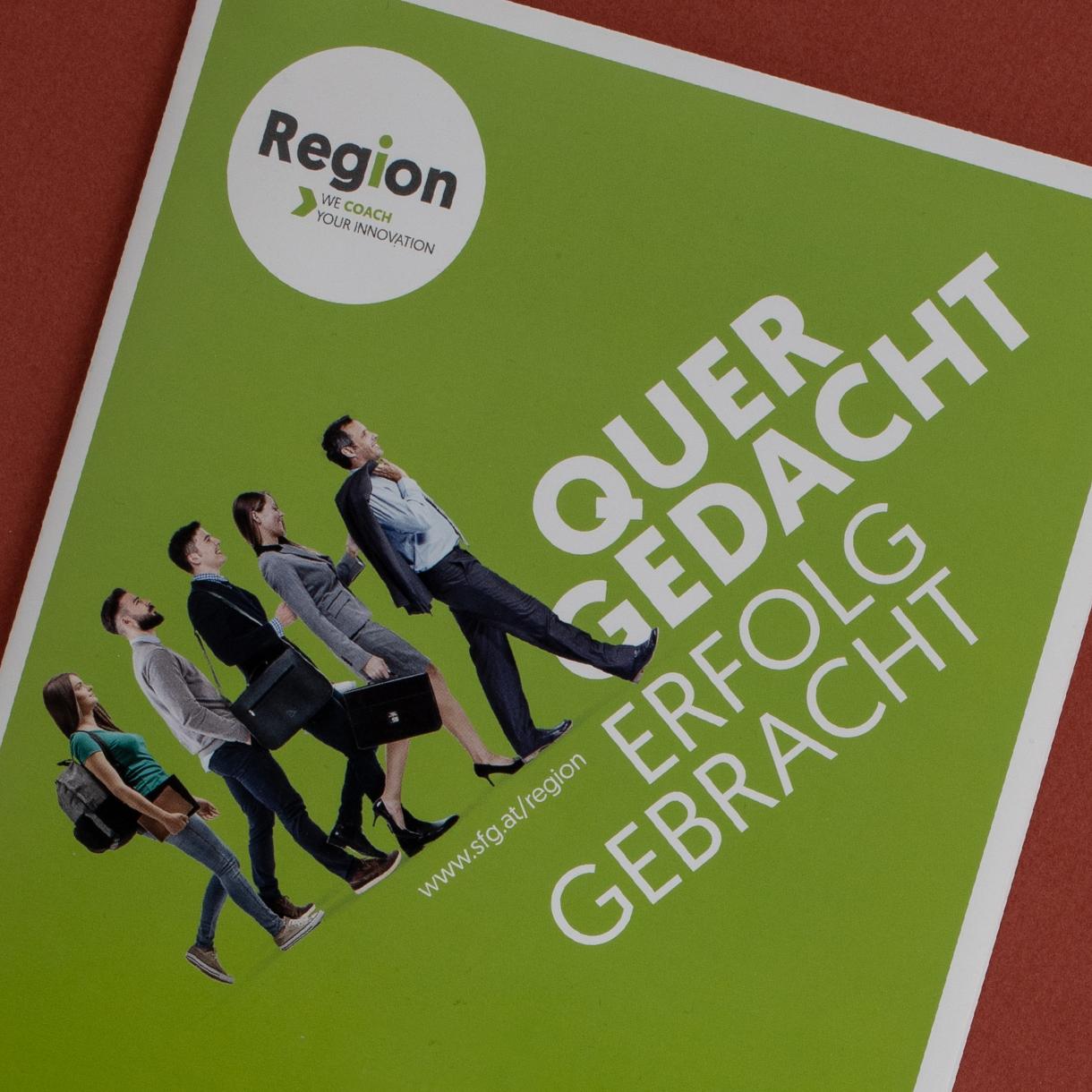 Markenstolz // SFG Steirische Wirtschaftsförderung Regionales Innovationscoaching Brandstory Print PR