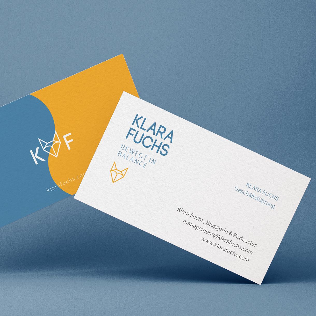 Markenstolz // Klara Fuchs Foxi Mind Brandstory Corporate Design Logo Bilderwelt
