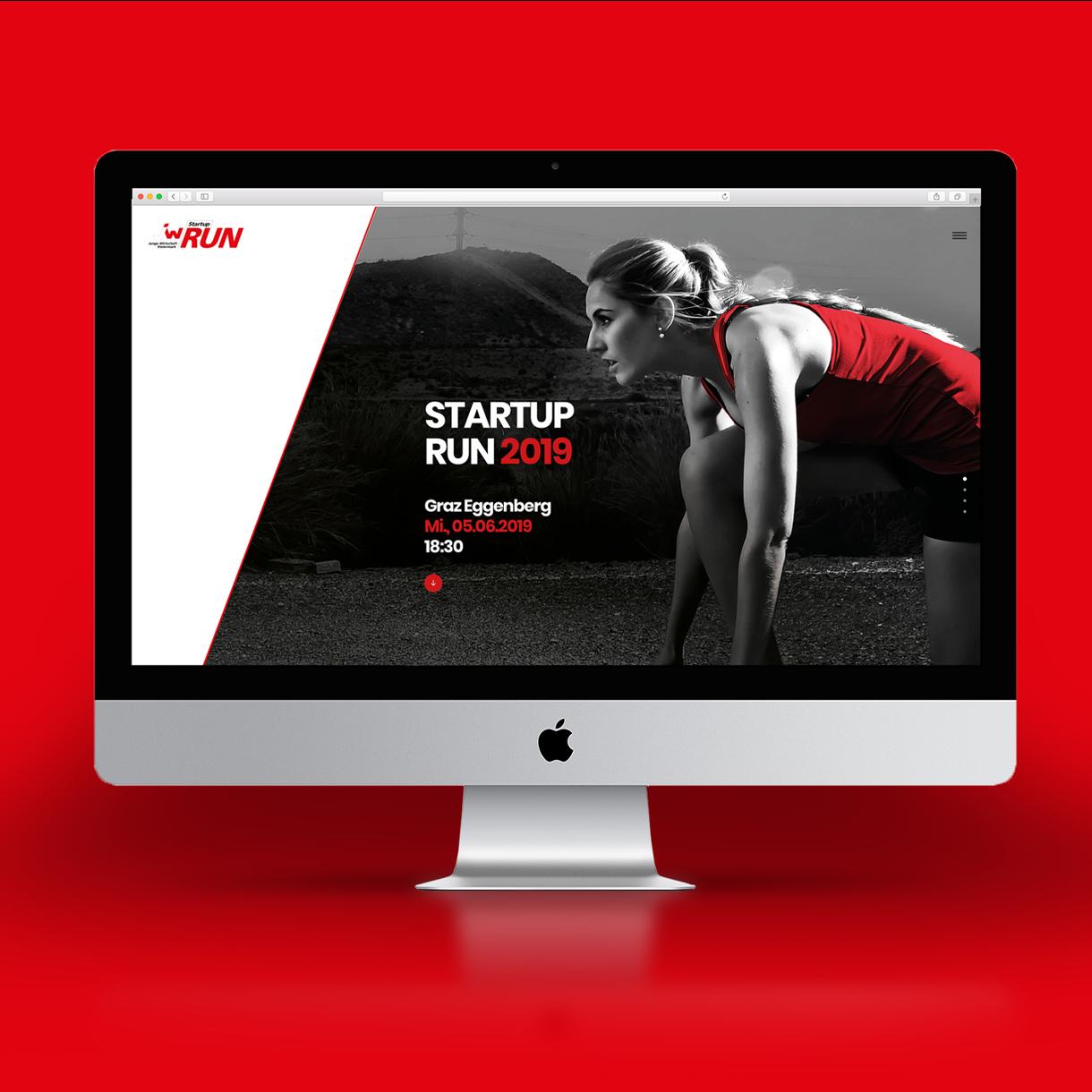Markenstolz // Start-Up Run Junge Wirtschaft Event PR Corporate Design Brandstory