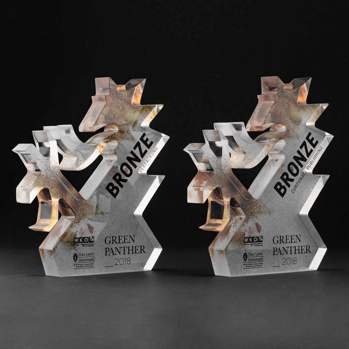 Markenstolz // Auszeichnungen Green Panther